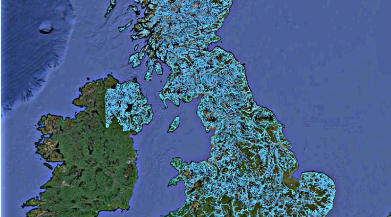 Post-Glacial Flooded Britain